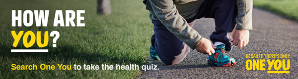 How are you? Search One You to take the health quiz
