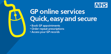 GP online services. Quick, easy and secure