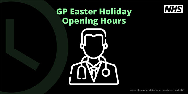 GP Easter Holiday Opening Hours